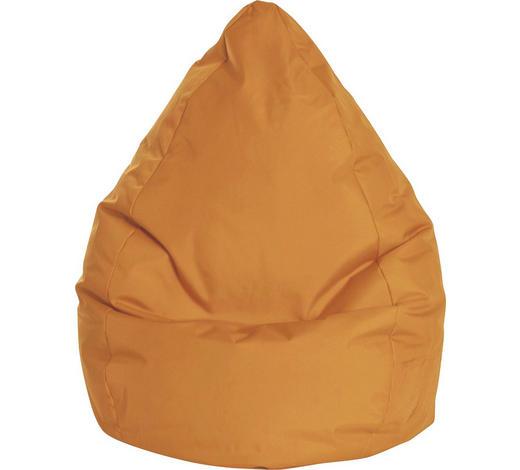 SITZSACK in Textil Orange - Orange, Design, Textil (80/130/80cm)