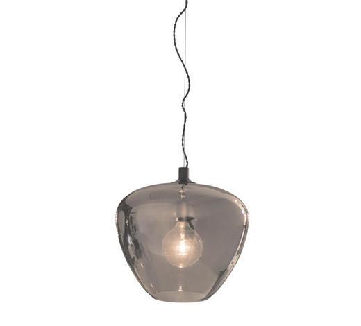 HÄNGELEUCHTE - Grau, Design, Glas (40/35cm) - By-Rydens