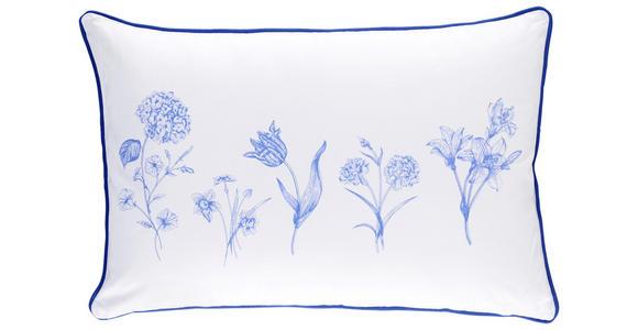 ZIERKISSEN 40/60 cm  - Blau, LIFESTYLE, Textil (40/60cm) - Esposa