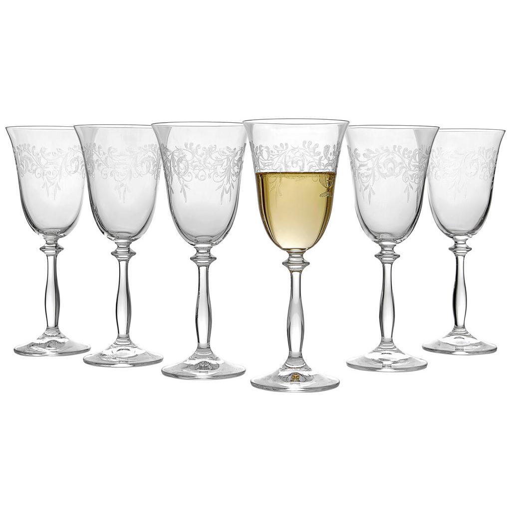 Novel Weißweinglas-set 6-teilig