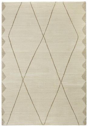 VÄVD MATTA - champagne/naturfärgad, Klassisk, textil (120/170cm) - Novel