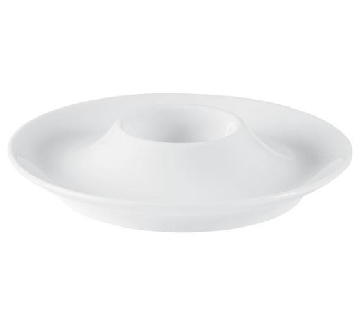 EIERBECHER Keramik  - Weiß, Design, Keramik - Seltmann Weiden