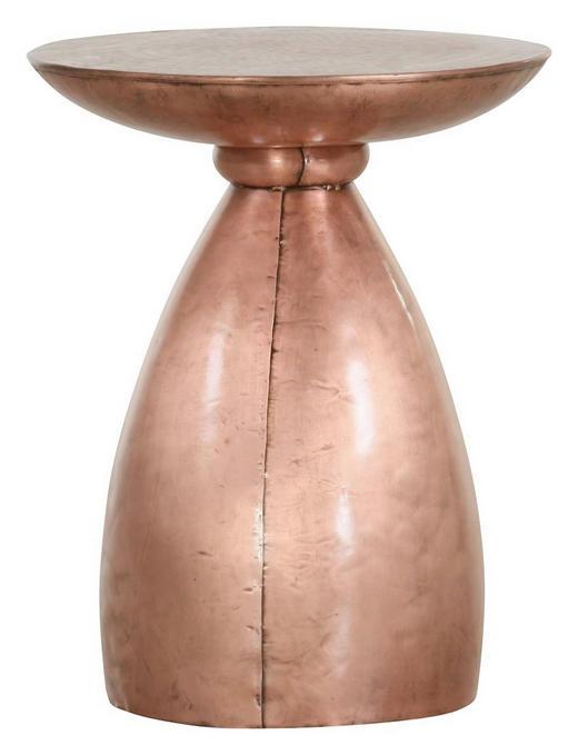 BEISTELLTISCH Kupferfarben - Kupferfarben, Design, Metall (42/54cm) - Carryhome