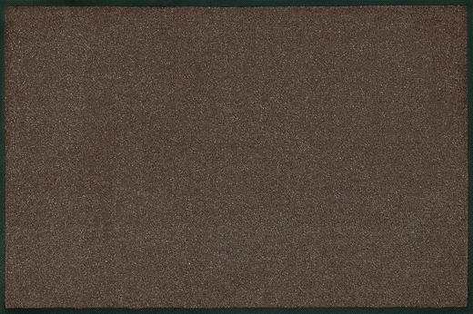 FUßMATTE 60/180 cm Uni Braun - Braun, Basics, Kunststoff/Textil (60/180cm) - Esposa