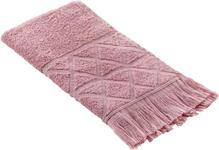 GÄSTETUCH 30/50 cm Rosa  - Rosa, Design, Textil (30/50cm) - Esposa