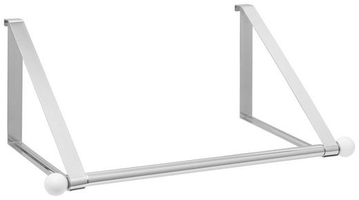 TÜRGARDEROBE Metall - Chromfarben/Weiß, Design, Metall (51/20/29cm) - Xora