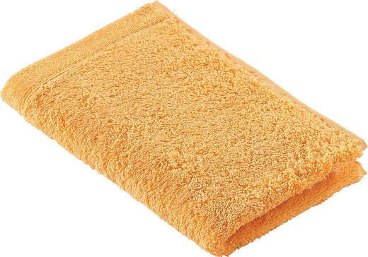 GÄSTETUCH  Orange 30/50 cm - Orange, Basics, Textil (30/50cm) - CAWOE
