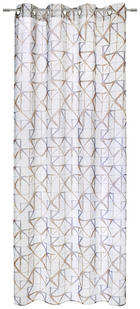 ÖSENVORHANG halbtransparent - Braun/Grau, Design, Textil (135/245cm) - ESPOSA