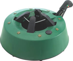 JULGRANSFOT - grön, Basics, plast (32cm)