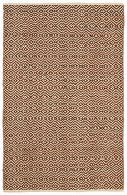 PATCHWORK TEPIH - smeđa/natur boje, Konvencionalno, koža/tekstil (70/130cm) - Boxxx
