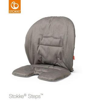 stokke steps dyna - mullvadsfärgad/gråbrun, Trend, textil (18/28/5cm) - Stokke