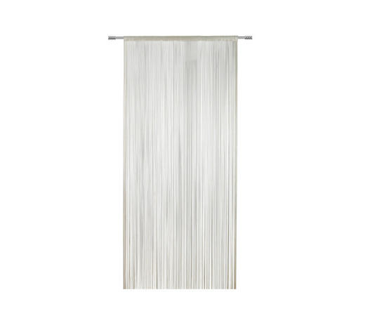 FADENSTORE transparent - Naturfarben, KONVENTIONELL, Textil (100/260cm) - Esposa