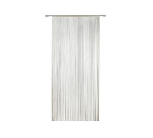 FADENSTORE halbtransparent - Weiß, KONVENTIONELL, Textil (100/260cm) - Esposa