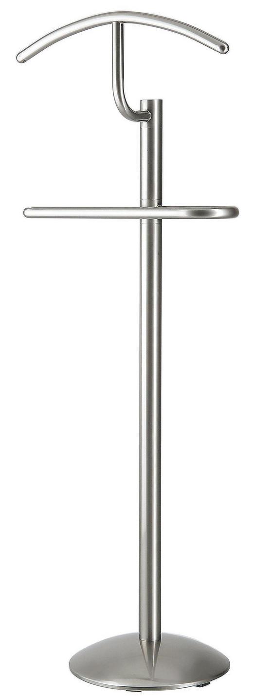 HERRENDIENER Edelstahlfarben - Edelstahlfarben, Design, Metall (40/120/28cm) - BOXXX