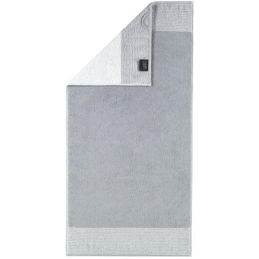 HANDTUCH 50/100 cm - Platinfarben, Design, Textil (50/100cm) - Cawoe