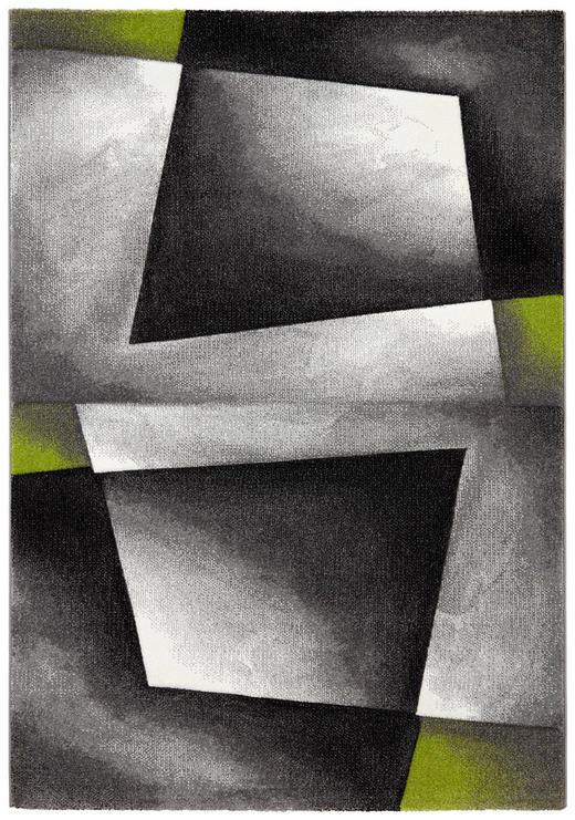 TKANA PREPROGA RUBIN DIAMOND - zelena, Design, umetna masa/tekstil (80/150cm) - Novel
