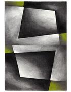 WEBTEPPICH - Grün, KONVENTIONELL, Naturmaterialien/Kunststoff (120/170cm) - Novel