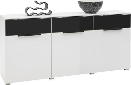 Kommode schwarz glas  KOMMODE Schwarz, Weiß online kaufen ➤ XXXLutz