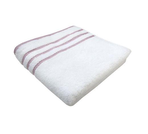 RUČNIK - roza/bijela, Konvencionalno, tekstil (50/90cm) - Esposa