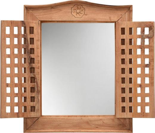 SPIEGEL - Naturfarben, Trend, Glas/Holz (50/62/5cm) - Ambia Home