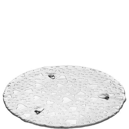 TORTENPLATTE - Klar, Basics, Glas (34cm) - Leonardo