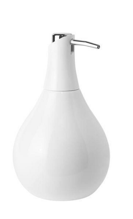 SEIFENSPENDER - Weiß, Design (10/17.5cm)