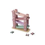 KUGELBAHN TIAMO - Rosa/Mintgrün, KONVENTIONELL, Holz (28/28/10cm)