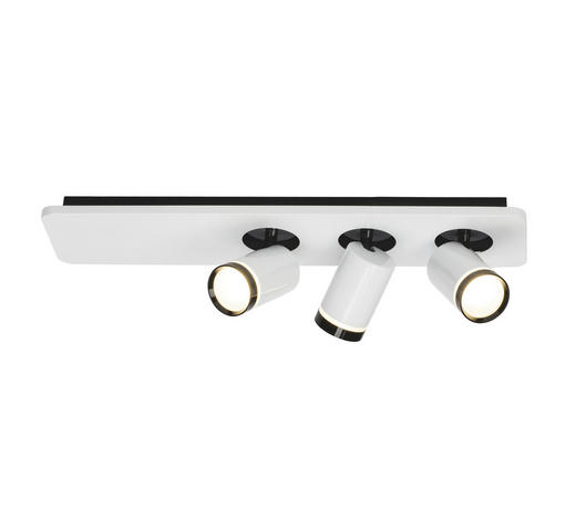 LED-STRAHLER   - Schwarz/Weiß, Design, Kunststoff/Metall (14/50/12cm) - AEG