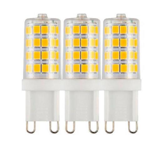 LED-Leuchtmittel G9 - Weiß, Basics, Kunststoff (1,5/5,2cm) - Boxxx