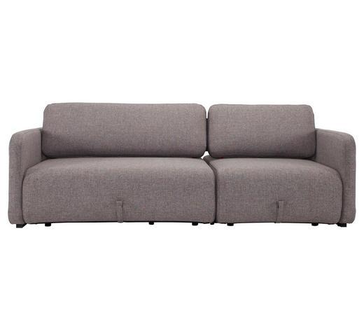 SCHLAFSOFA in Textil Grau  - Grau, MODERN, Textil (217/60/120/160cm) - Innovation