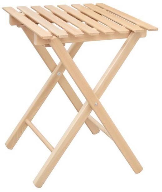 BLUMENTISCH Holz Buche massiv - Buchefarben, Design, Holz (34/44/34cm)