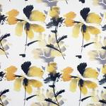 VORHANGSTOFF per lfm blickdicht - Gelb/Schwarz, Design, Textil (145cm) - Esposa