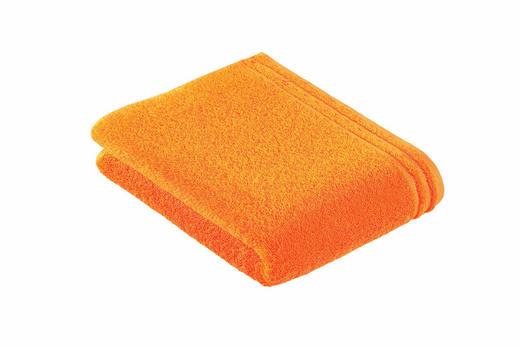 DUSCHTUCH 67/140 cm - Orange, Basics, Textil (67/140cm) - Vossen