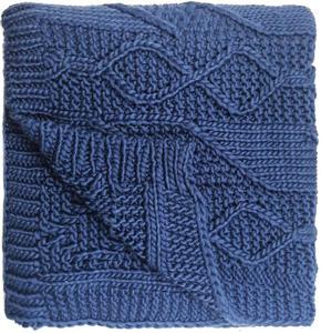 SÄNGÖVERKAST - blå, Design, textil (130/180cm) - Ambia Home