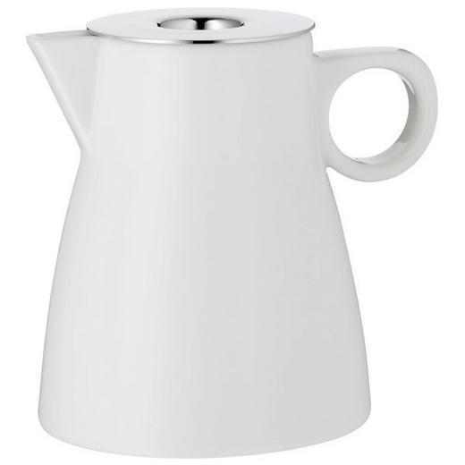MILCHKÄNNCHEN - Edelstahlfarben/Weiß, Basics, Keramik/Metall (7/8cm) - WMF