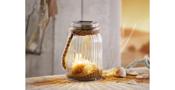 SOLARLEUCHTE - Design, Glas/Kunststoff (10,8/15,5cm) - Boxxx