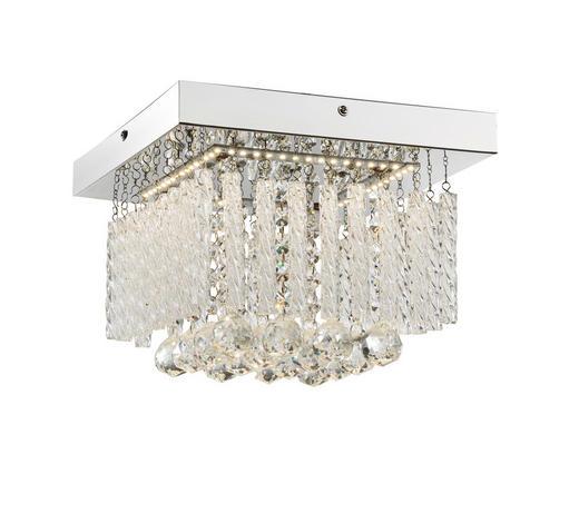 LED-DECKENLEUCHTE   - Design, Glas/Metall (25/25/15cm)