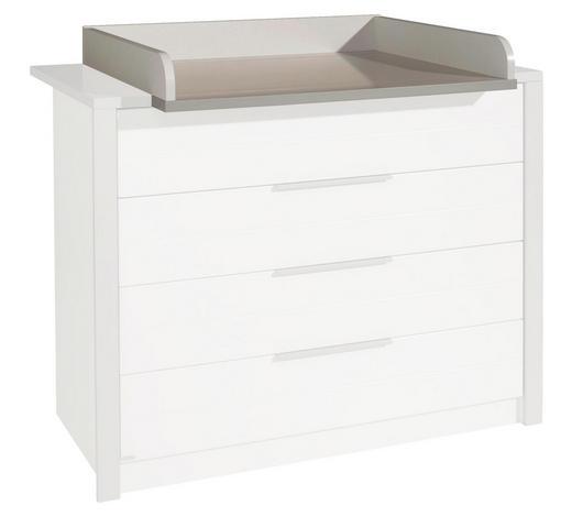WICKELANSATZ Faro - Weiß, Design, Holzwerkstoff (117,3/12,5/79,2cm) - Paidi