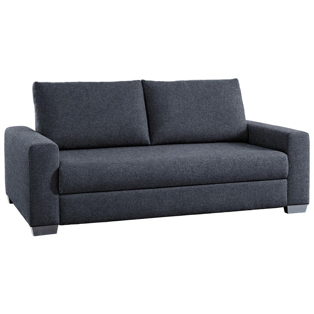 Image of Bali Schlafsofa in textil grau , Elements , Buche , 182x77-88x110 cm , Typenauswahl, Stoffauswahl, Schlafen auf Sitzhöhe , 001280001331