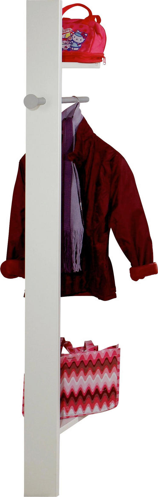 GARDEROBE Grau, Weiß - Weiß/Grau, Design (32/179/12cm) - Carryhome