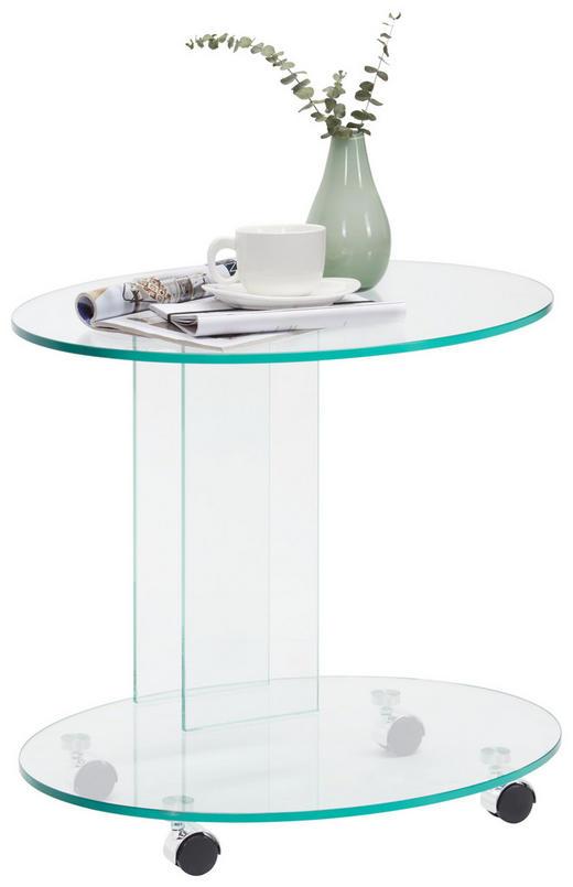 BEISTELLTISCH in - Design, Glas (55/51/45cm) - Xora