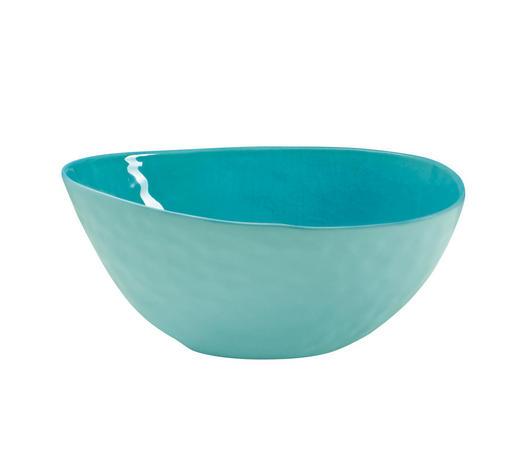 SCHALE Keramik Feinsteinzeug  - Türkis, Basics, Keramik (19.5/5.9/18cm) - ASA