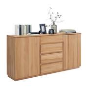 KOMODA - barve bukve, Trend, leseni material/les (180/89,2/41cm) - LINEA NATURA