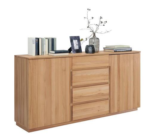 KOMODA, jádrový buk, barvy buku - barvy buku, Trend, dřevo/kompozitní dřevo (180/89,2/41cm) - Linea Natura
