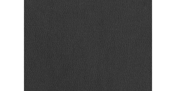 WOHNLANDSCHAFT Lederlook Armteilverstellung, Bettkasten, Relaxfunktion, Rückenkissen, Schlaffunktion, Zierkissen - Chromfarben/Anthrazit, Design, Textil/Metall (200/309cm) - Hom`in