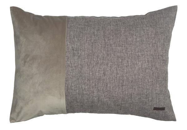 KISSENHÜLLE Braun 38/58 cm - Braun, Textil (38/58cm)