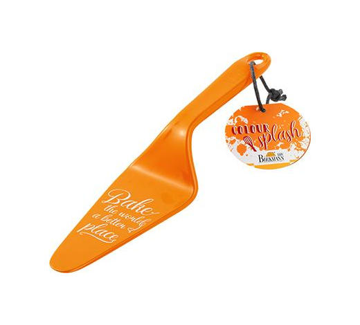 TORTENHEBER - Orange, Basics, Kunststoff (6/26/1,5cm) - Birkmann
