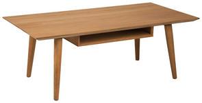 COUCHTISCH in Holz 120/60/46 cm   - Eichefarben, KONVENTIONELL, Holz/Holzwerkstoff (120/60/46cm) - Carryhome