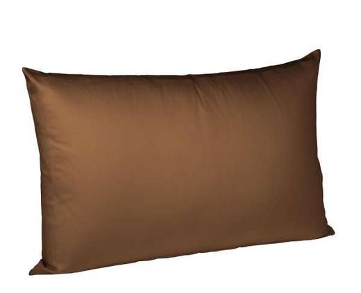 KISSENHÜLLE Dunkelbraun 40/60 cm - Dunkelbraun, Basics, Textil (40/60cm) - FLEURESSE