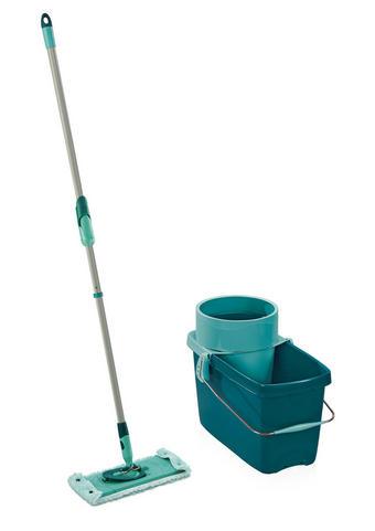 BODENREINIGUNGSSET - Grün, Basics, Kunststoff - Leifheit